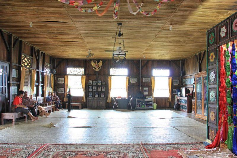 Ruang utama rumah panngung