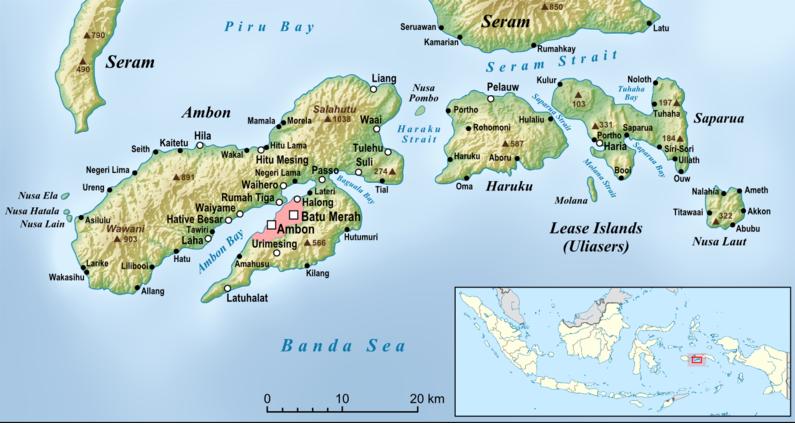 Kepulauan Maluku atau suku ambon
