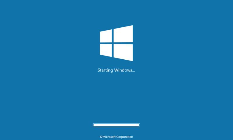 booting saat membuka windows 10