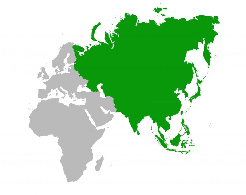 Batas Wilayah Benua Asia