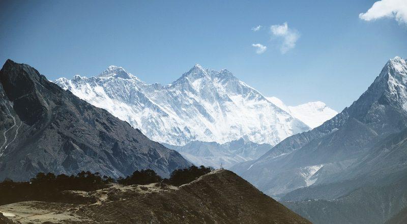 Dataran Tinggi Gunung Everest Himalaya