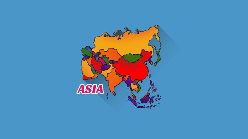 Karakteristik Bentang Alam Benua Asia