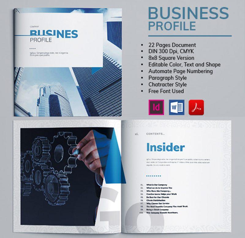 Brosur Profil Bisnis dengan Microsoft Word 2010