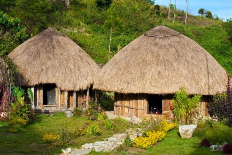 Rumah Honai Kebudayaan Papua Barat