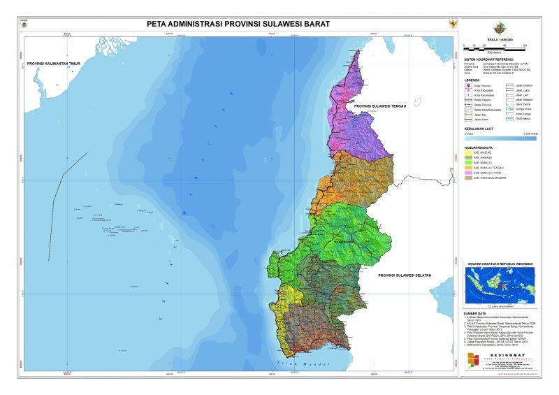 Peta Kebudayaan Sulawesi Barat