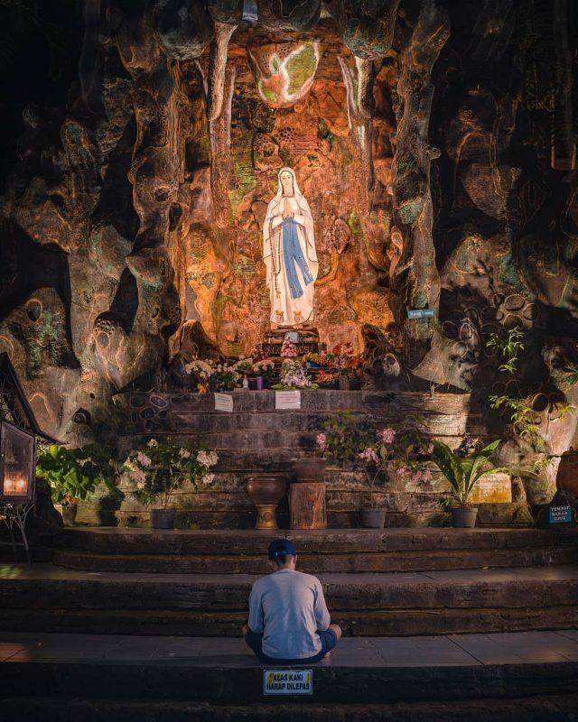 gua maria destinasi wisata wonogiri