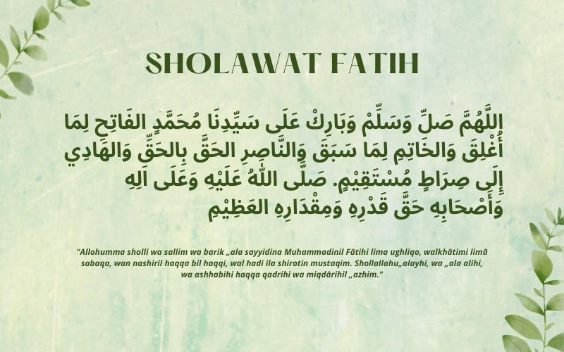 Sholawat Fatih